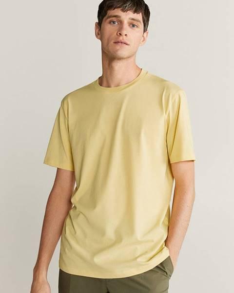 Žluté tričko Mango Man