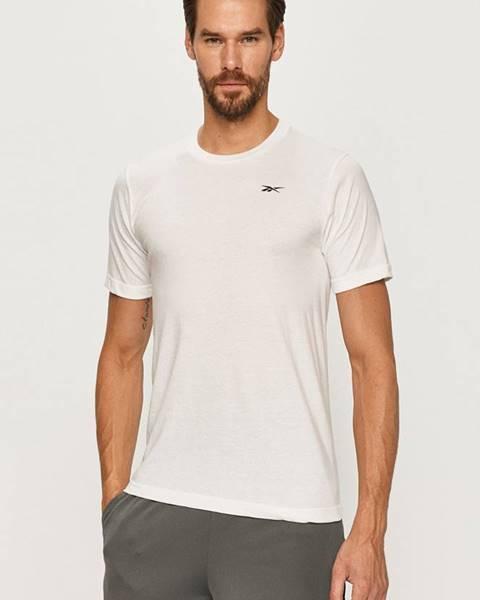 Bílé tričko reebok