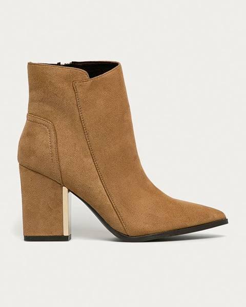Hnědé boty Corina