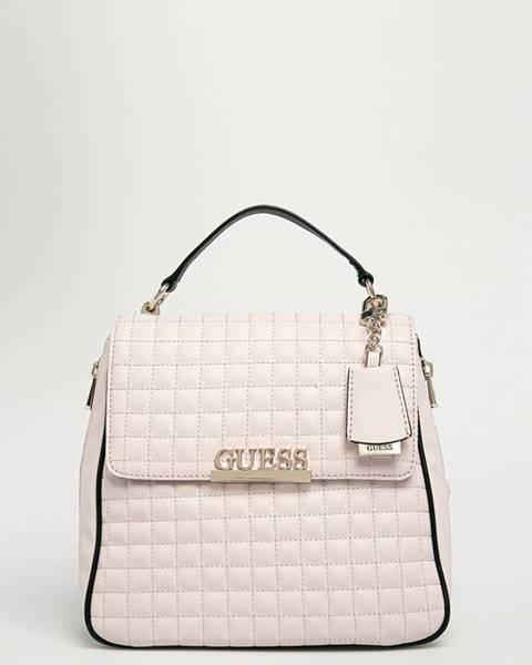 Růžový batoh Guess Jeans