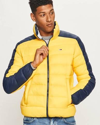 Žlutá bunda Tommy Jeans