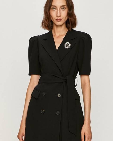 Černé šaty Miss Sixty