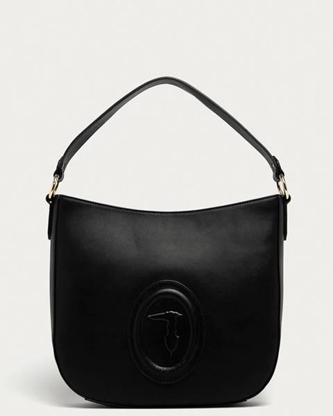 Černá kabelka Trussardi Jeans