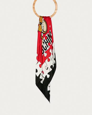 Vícebarevná šála Moschino