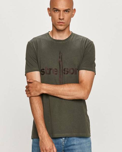 Zelené tričko Strellson
