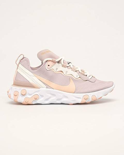 Růžové boty Nike Sportswear