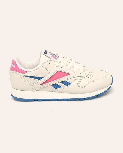 Vícebarevné boty reebok classic