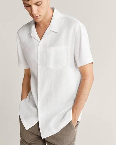 Bílá košile Mango Man