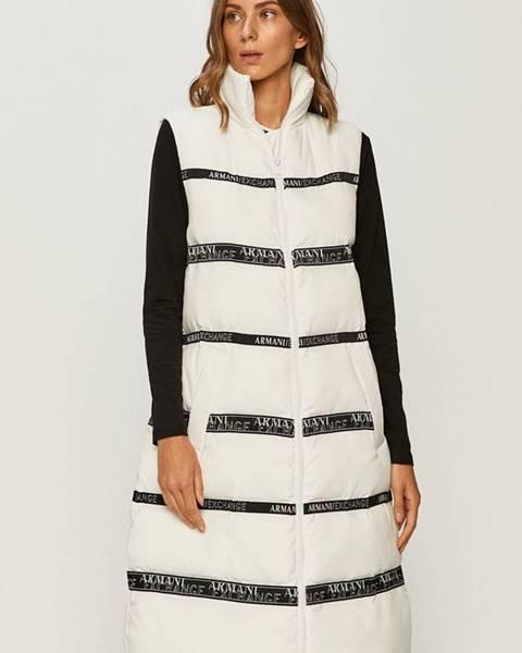 Bílá vesta Armani Exchange