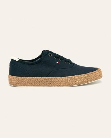 Modré boty tommy hilfiger