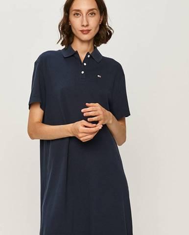 Modré šaty Tommy Jeans