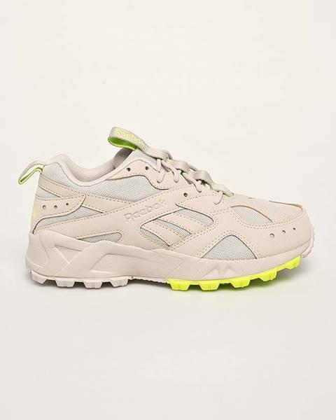 Béžové boty reebok classic