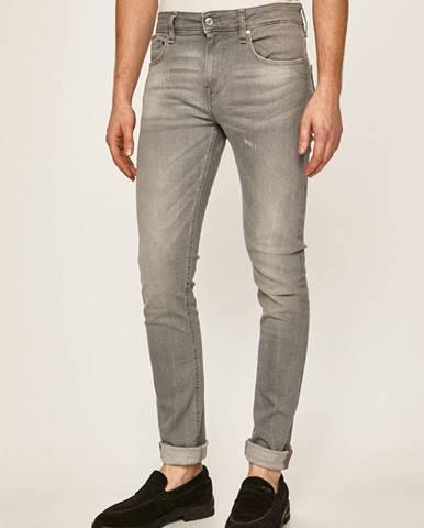 Šedé kalhoty Guess Jeans
