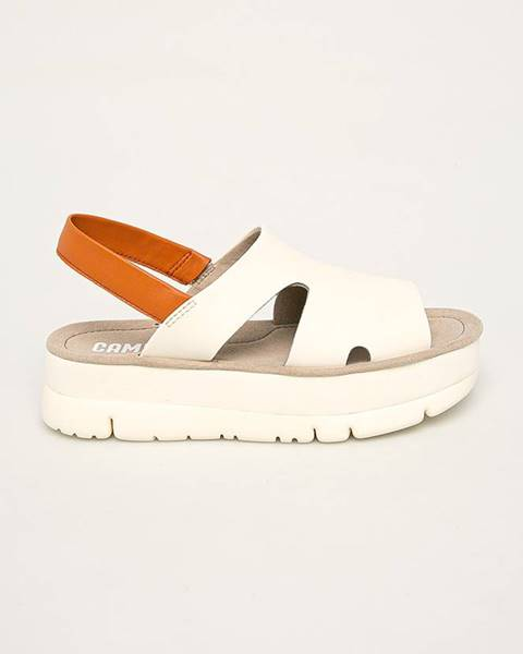 Béžové boty Camper