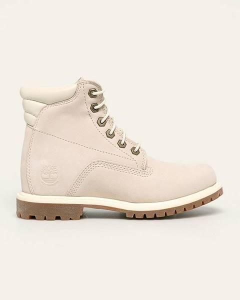 Bílé boty Timberland