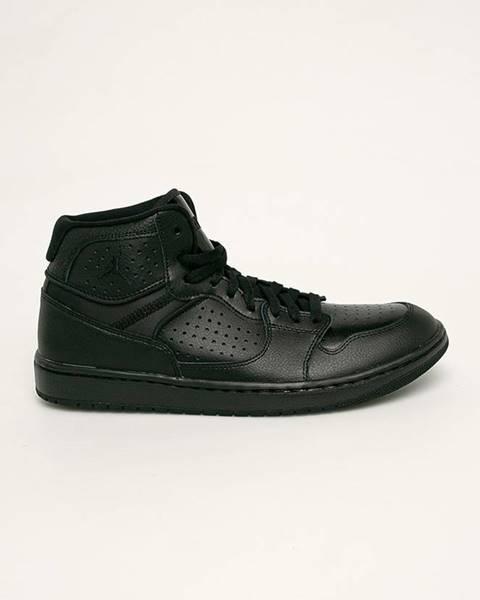 Černé boty Jordan
