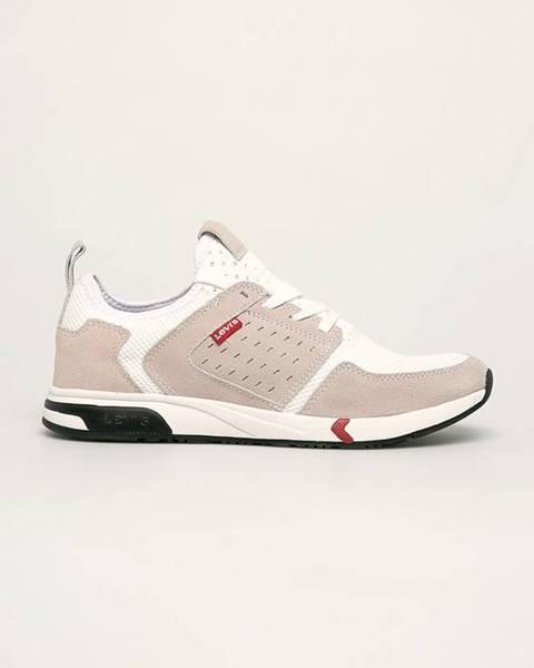 Béžové boty Levi's
