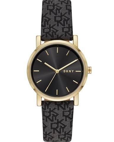Černé hodinky dkny