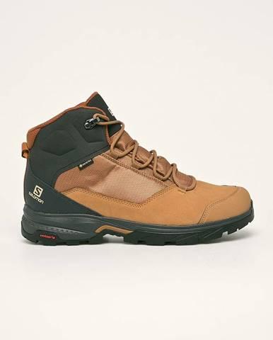 Hnědé boty Salomon