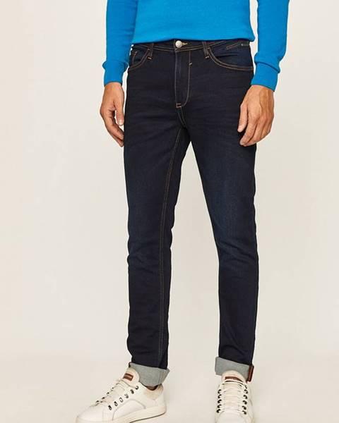 Modré kalhoty blend