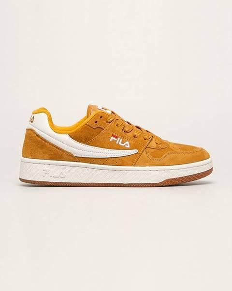 Oranžové boty fila