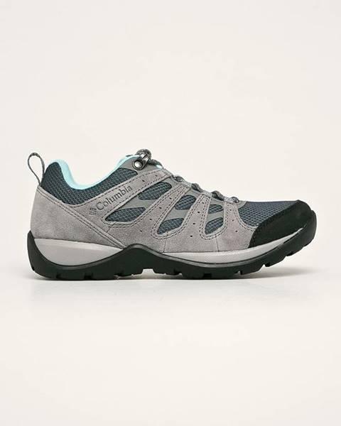 Šedé boty columbia