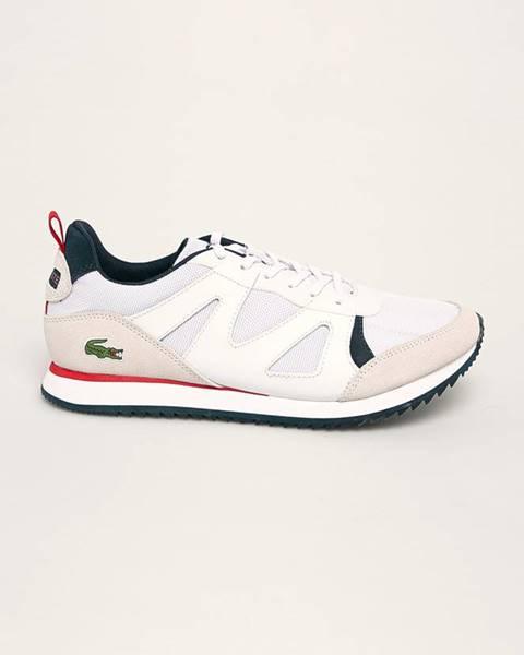 Bílé boty lacoste