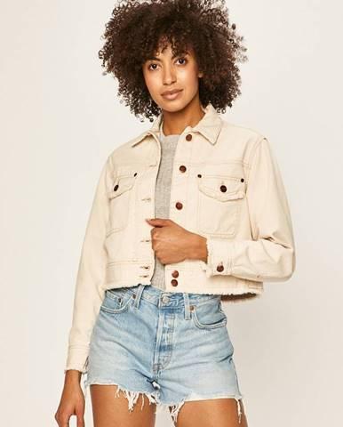 Béžová bunda pepe jeans