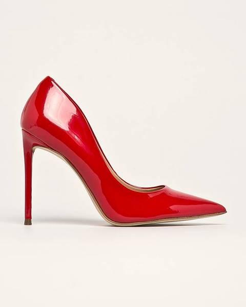 Červené boty steve madden