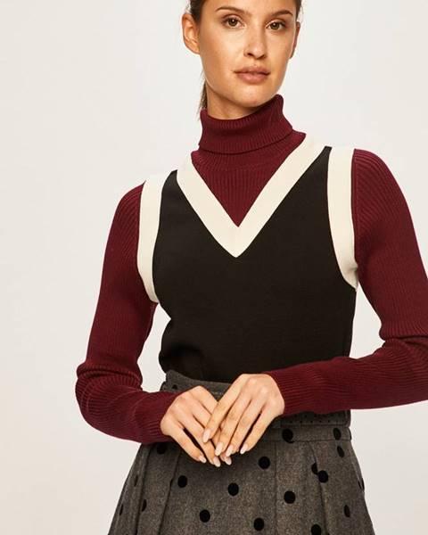 Černý svetr tommy hilfiger