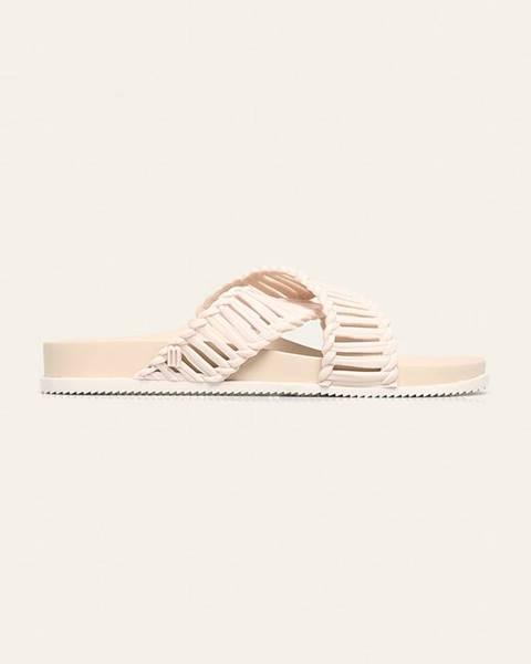 Béžové boty Melissa
