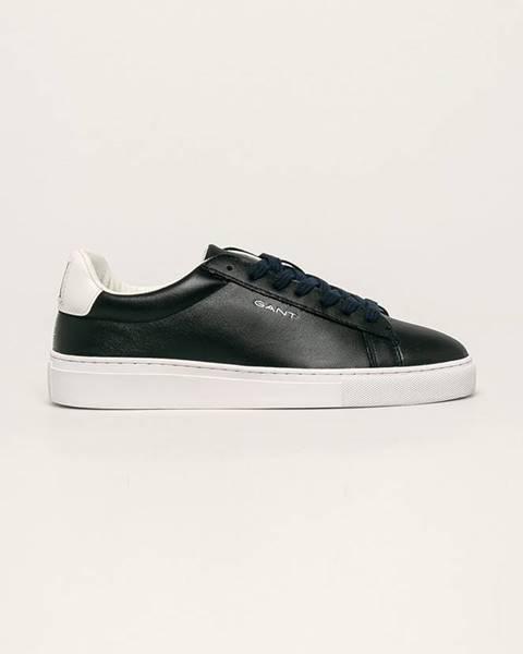 Modré boty gant