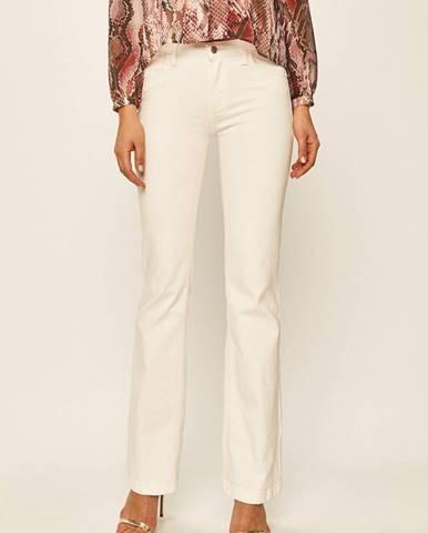 Bílé kalhoty Guess Jeans