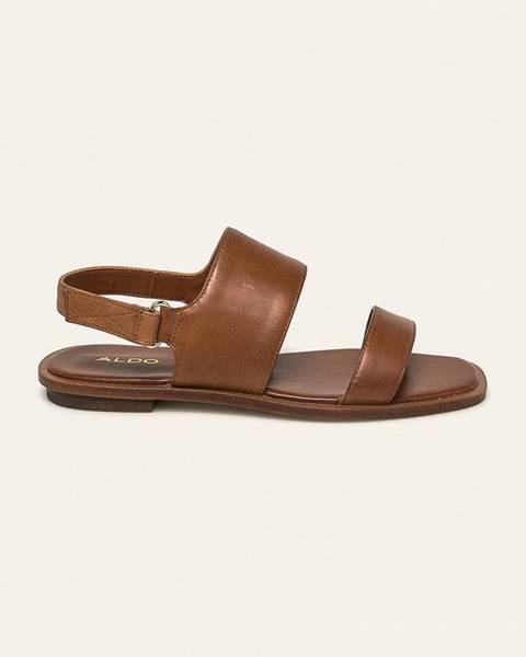 Hnědé boty aldo