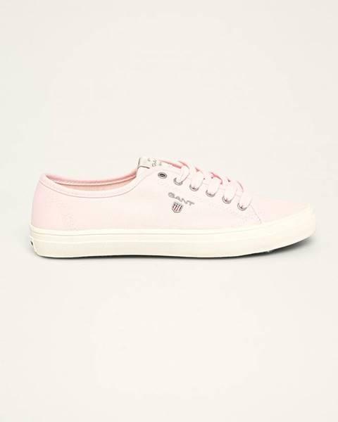 Růžové boty gant