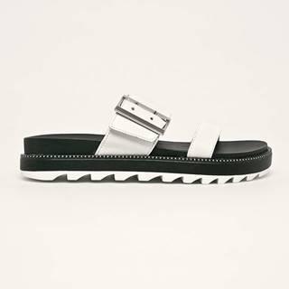 Sorel - Kožené pantofle Roaming Buckle Slide