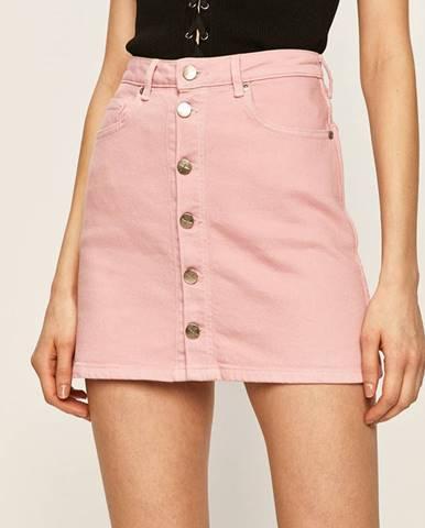 Růžová sukně pepe jeans