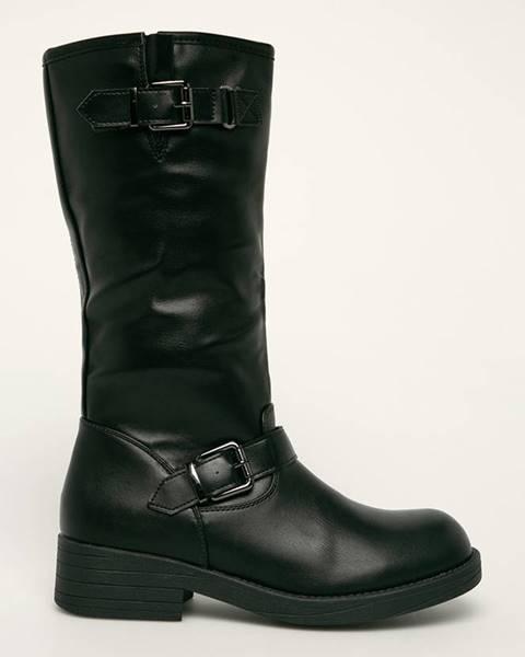 Černé boty ANSWEAR