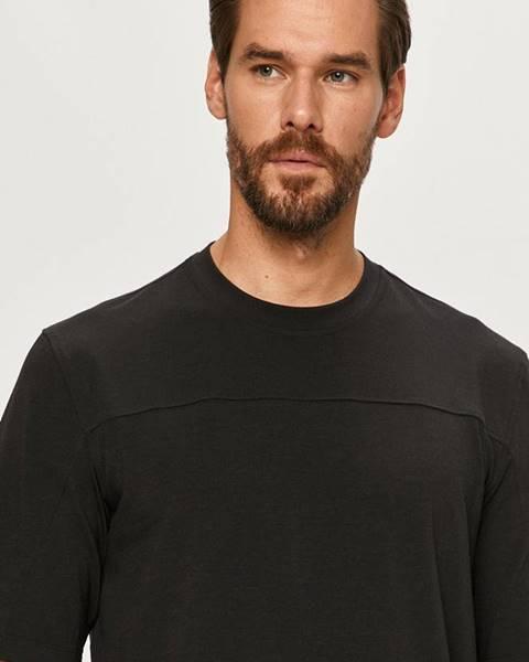 Černé tričko adidas performance