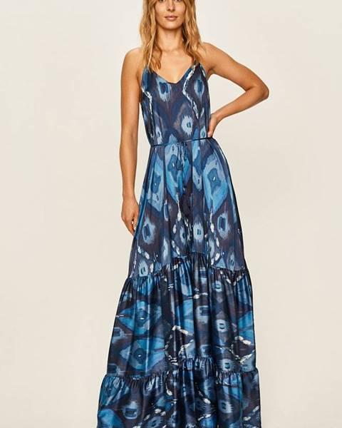 Modré šaty Guess Jeans
