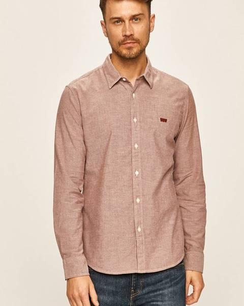 Růžová košile Levi's