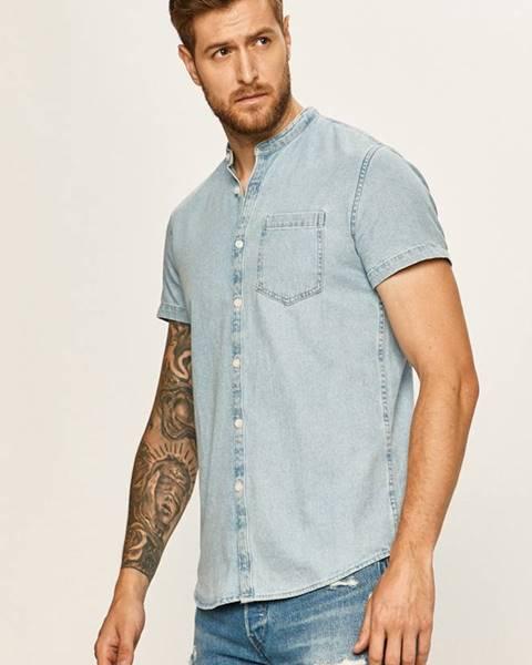 Modrá košile tom tailor denim