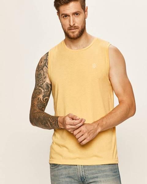 Žluté tričko tom tailor denim