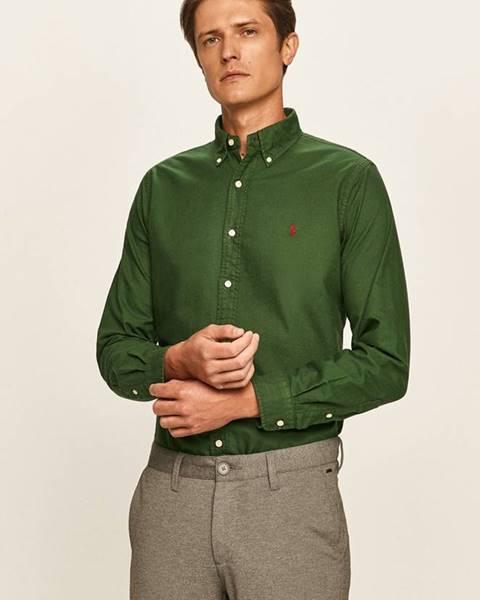 Zelená košile Polo Ralph Lauren