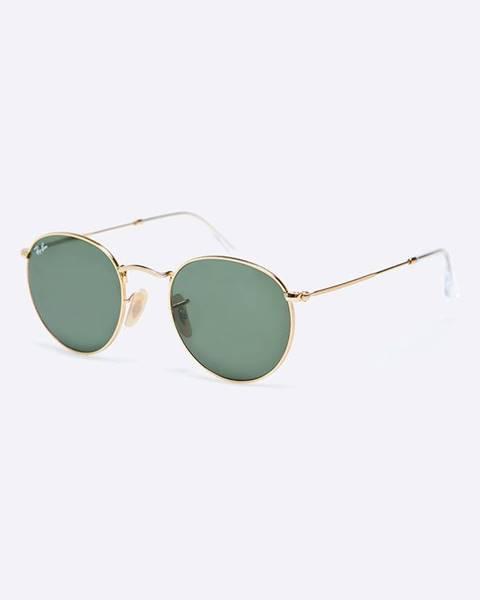 Zlaté brýle Ray-Ban