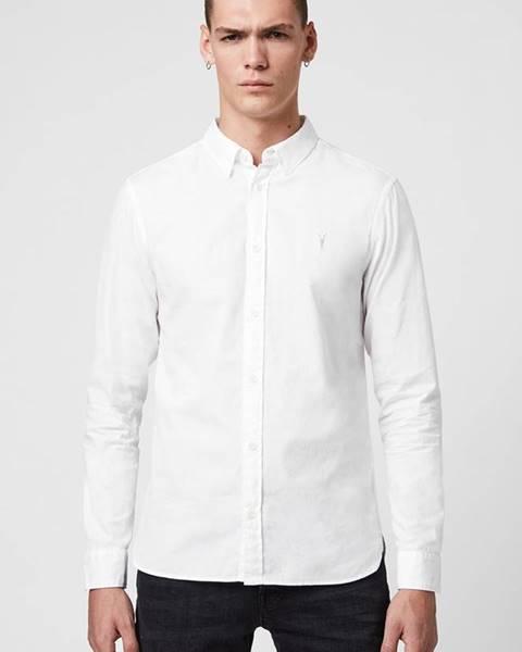Bílá košile AllSaints