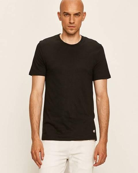 Černé tričko champion