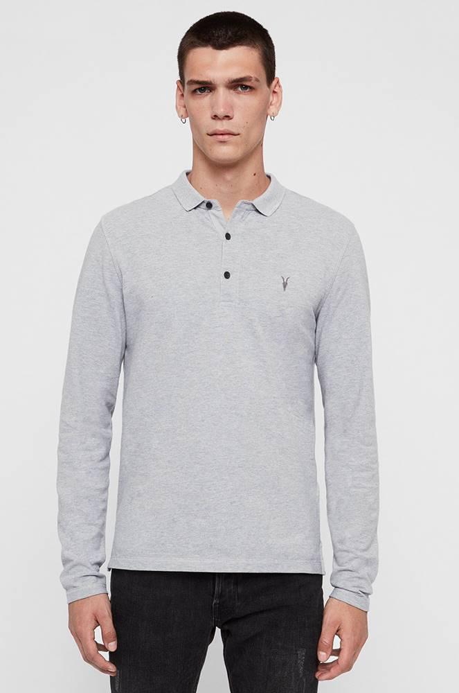 AllSaints AllSaints - Tričko s dlouhým rukávem Reform Polo