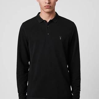 AllSaints - Tričko s dlouhým rukávem Reform Polo