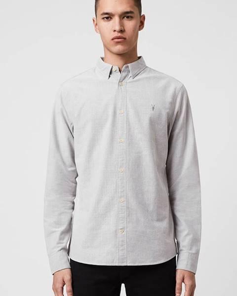 Šedá košile AllSaints
